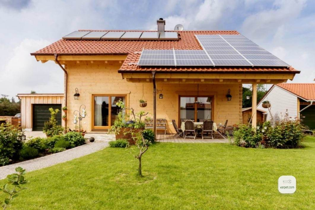 the solar station
