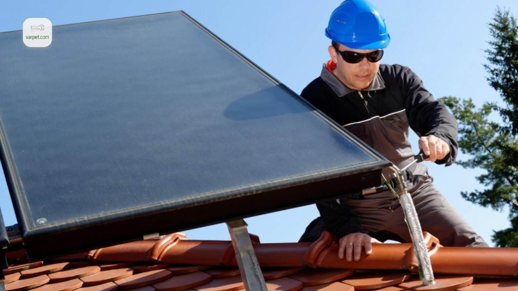 Solar panels for the home