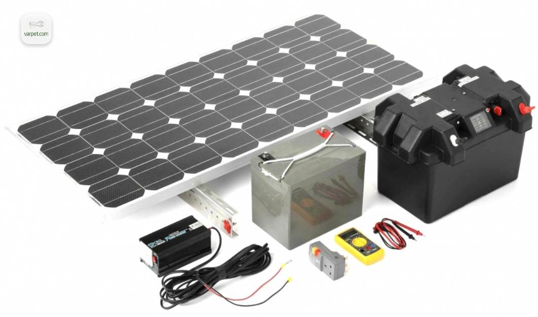 Solar station components