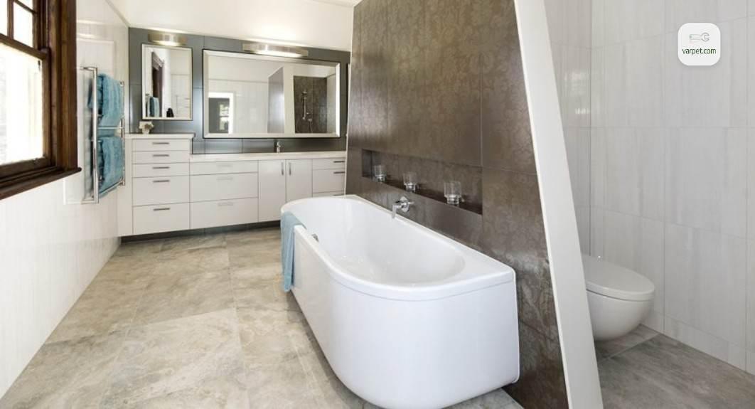 Отделенный туалет от ванной