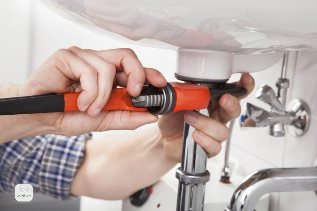 Installation of plumbing fixtures